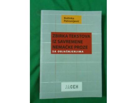Zbirka tekstova iz savremene nemačke proze sa objašnjen