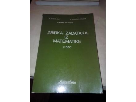 Zbirka zadataka iz matematike II deo - Jelić Krgović
