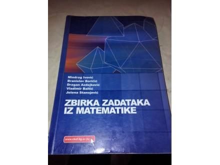 Zbirka zadataka iz matematike - Ivović Boričić Baltić