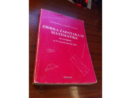 Zbirka zadataka iz matematike za VI Jevremović i dr
