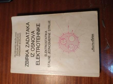Zbirka zadataka iz osnova elektrotehnike elektrostatika