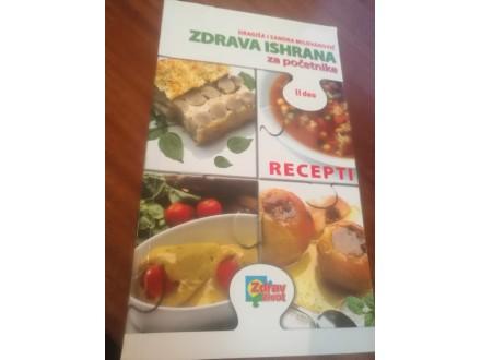 Zdrava ishrana za početnike II deo Milovanović
