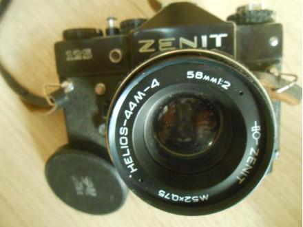 Zenit 12s, Helios-44M -4  ,58.mm 1:2,M 52 X 0.75