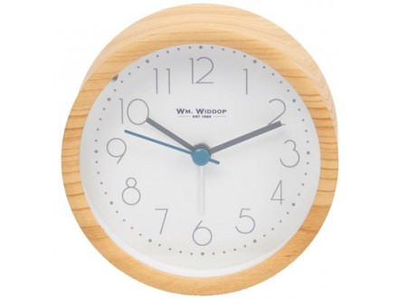 Zidni sat alarm - Light Oak - William