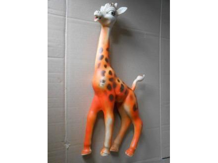 Žirafa  ART 201 Biserka,Vintage rubber toy GIRAFFE