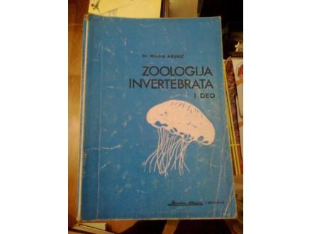 Zoologija invertebrata I deo - dr Miloje Krunić