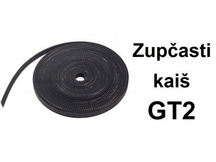 Zupcasti kais za CNC projekte GT2 - 1m