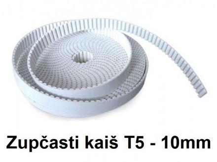 Zupcasti kais za CNC projekte T5 10mm - 1m