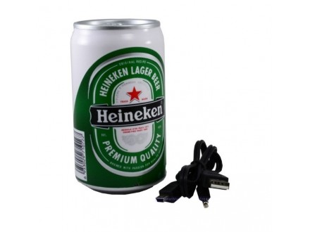 Zvučnik limenka HEINEKEN - Radio, Usb, SD