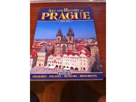 art and history of prague monografija