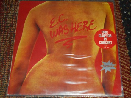 eric clapton - e.c.was here MINT !!!