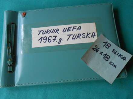 fudbal-TURNIR UEFA-1967.TURSKA- mlada REPREZENTACIJA YU