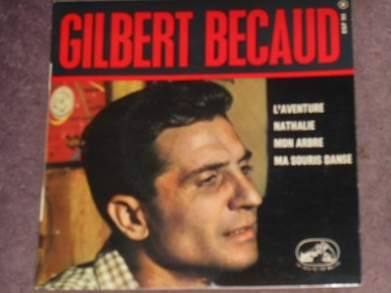 gilbert becaud - l*aventure EP (france) MINT !!!
