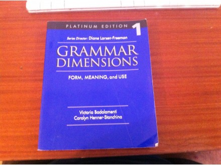 grammar dimensions 1 diane larsen-freeman