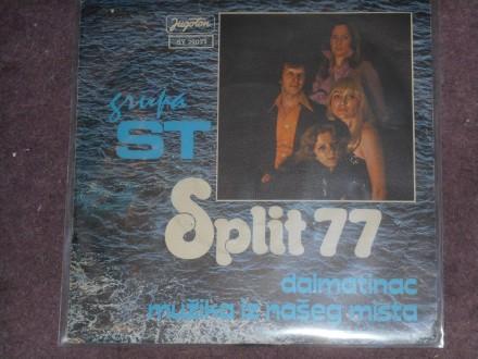 grupa ST - dalmatinac(split 77) MINT !!!