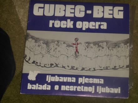 gubec beg (rock opera) - ljubavna pjesma MINT !!!