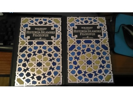 historija islamske filozofije mm sarif