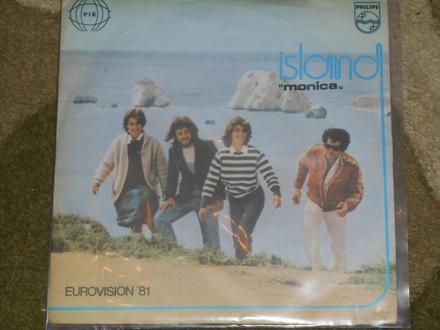 island - monica (eurovision `81.)  MINT !!!