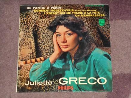 juliette greco - comment voulez-vous EP(france) MINT !!