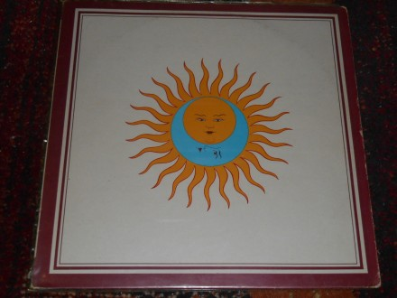king crimson - larks tongue in aspic (UK 1.pres) 5/5