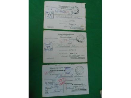 kriegsgefangenenpost-pošta za ratne zarobljenike WWII-l