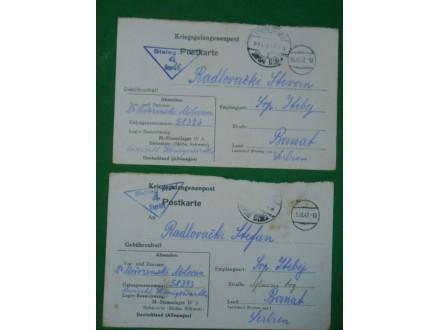 kriegsgefangenenpost-pošta za ratne zarobljenike WWII l