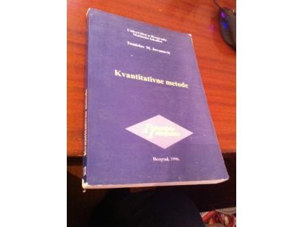 kvantitativne metode jovanovic