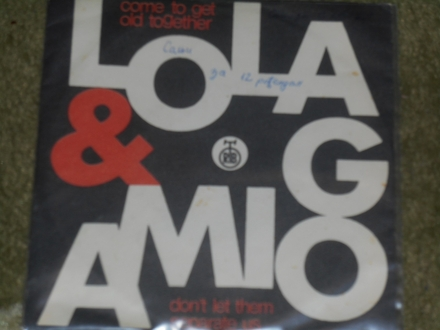 lola &; amigo - come to get old together MINT !!!