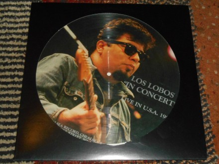 los lobos - in concert (italy picture disc) MINT !!!