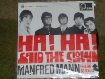 manfred mann - ha! ha! said the clown