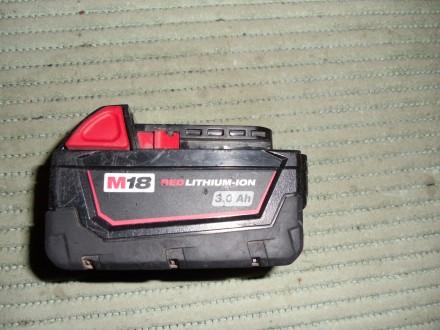 milwaukee baterija m18 v