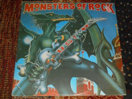 monsters of rock ussr 2xlp MINT !!!