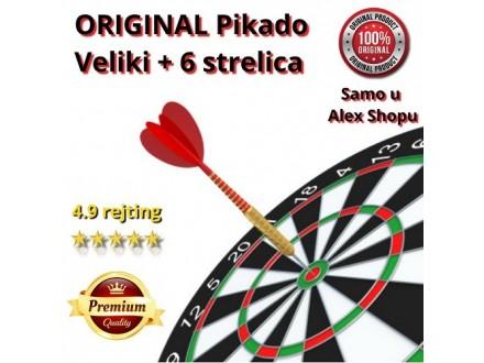 original VELIKI i MALI Pikado + 6 Strelica