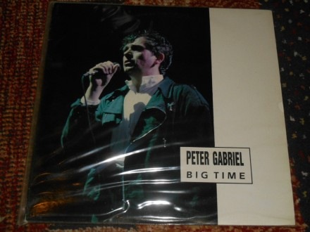 peter gabriel - big time (2lp live in italy, promo) 5/5