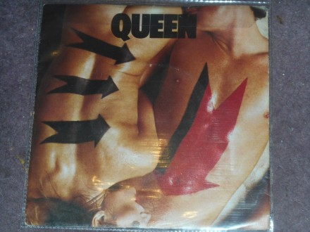 queen - body language (UK 1. pres, p/s)