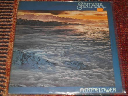 santana - moonflower 2xlp (EU pres) 5-/5+