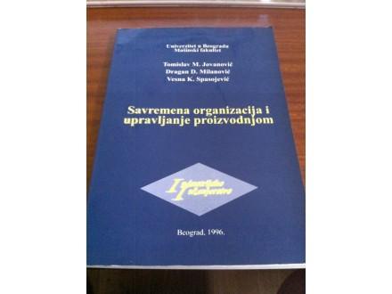 saremena organizacija i upravljanje proizvodnjom