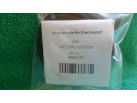 senzor temperature poda,kabl- NTC 3m 15kOhm /25 °C DEVI