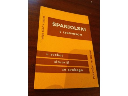 spanjolski s izgovorom