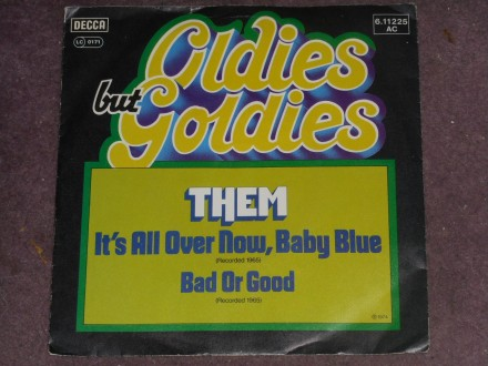 them - its all over now, baby blue (germany) MINT !!!