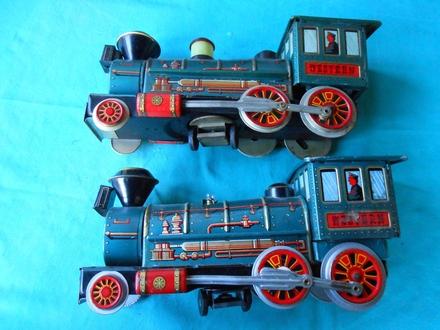 toy train-made in YAPAN VOZIĆI LIMENI 1960/70.