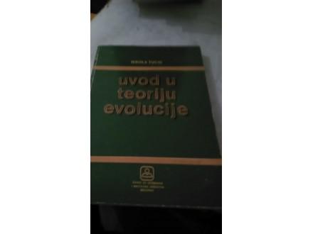 uvod u teoriju evolucije nikola tucic