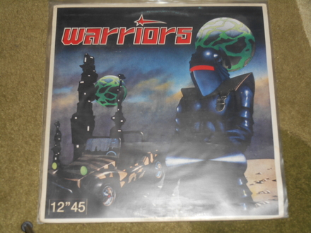 warriors - ratnici (maxi single) MINT !!!
