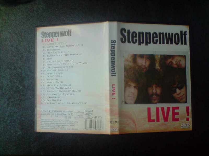 двд страни концерт Steppenwolf - Live!
