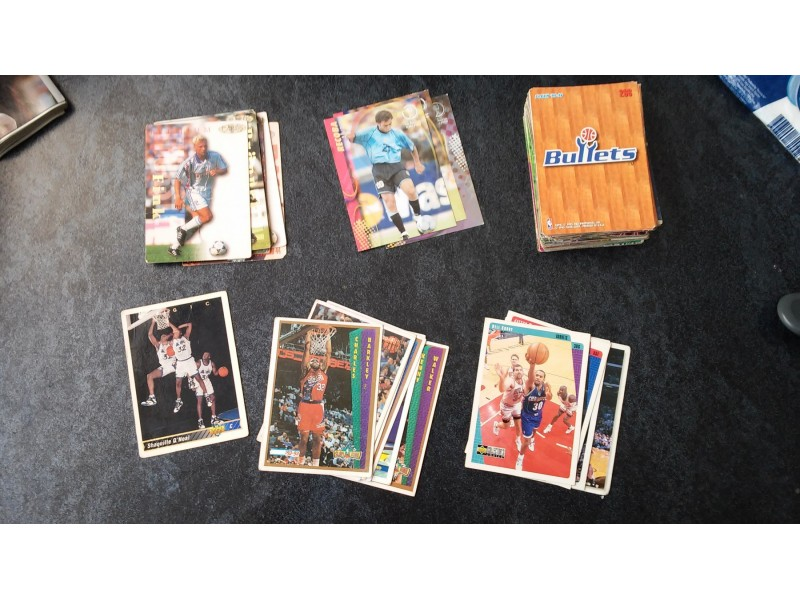 сличице nba cards 149 комадa(upper deck, fleer, panini)
