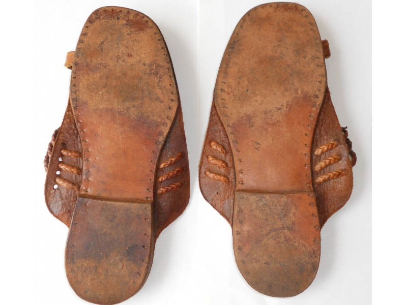 """Kolhapuri Chappals"" – INDIA – ženske kožne sandale"