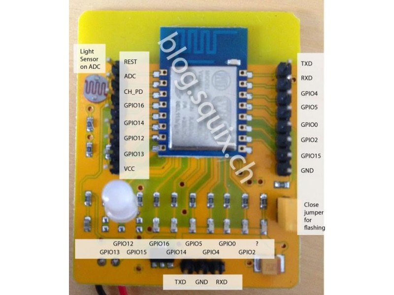 ♦ ESP8266 Serial WIFI razvojna ploca ♦