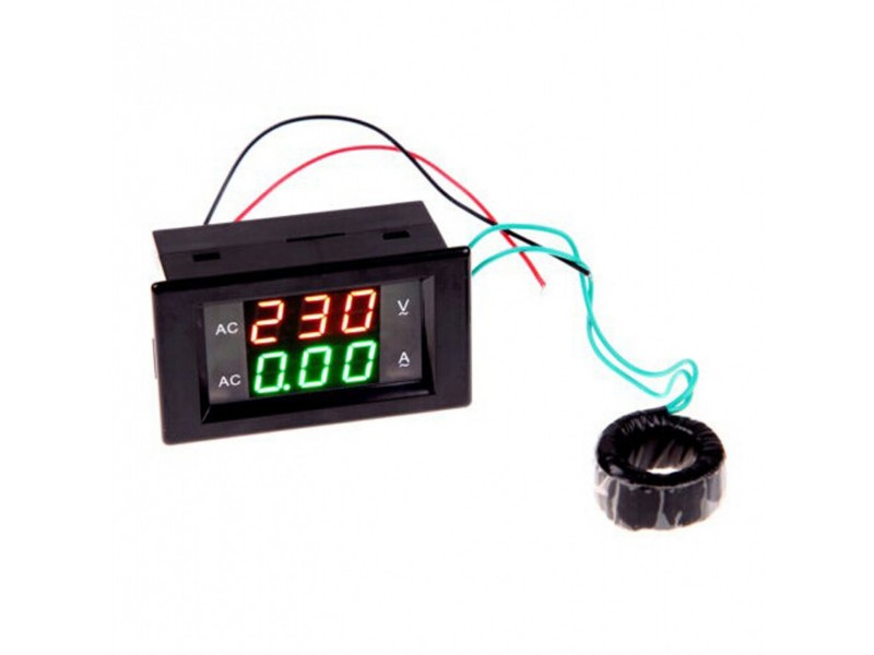 ♦ Voltmetar / Ampermetar AC 80-300V   0.1-100A ♦