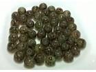 (A068) Staklene perlice Sarene Tamno Zelena 50KOIM