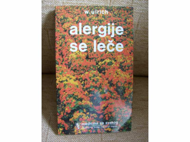 `Alergije se leče`  Wolf Ulrich